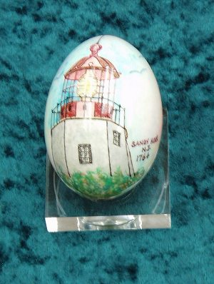 New Jersey 2004 White Hous4e Egg
